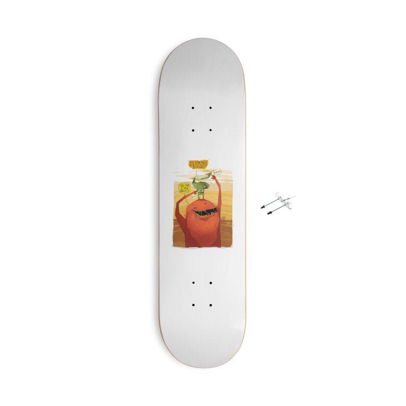 Fiendhunter No1 Accessories With Hanging Hardware Skateboard by viborjuhasart's Artist Shop