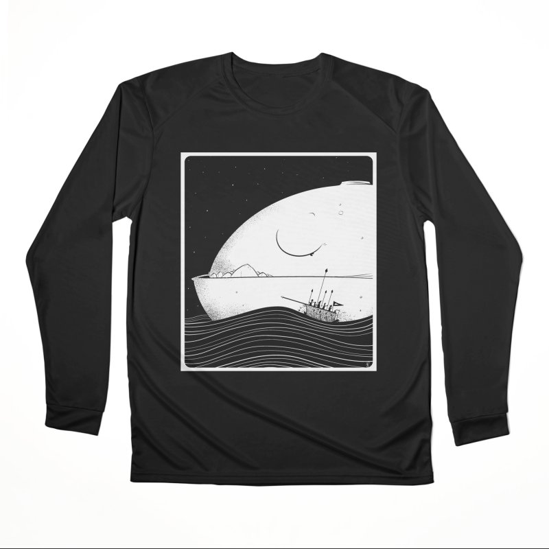 The Great White Women's Longsleeve T-Shirt by viborjuhasart's Artist Shop