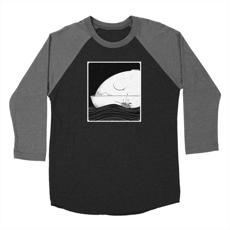 The Great White Women's Longsleeve T-Shirt by viborjuhasart's Artist Shop
