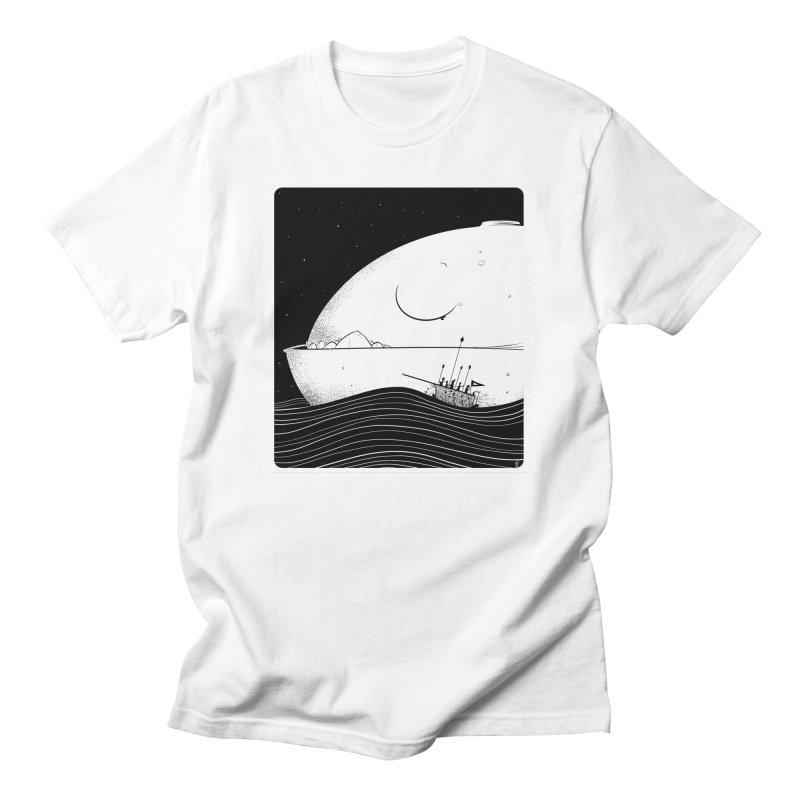 The Great White Men's T-Shirt by viborjuhasart's Artist Shop