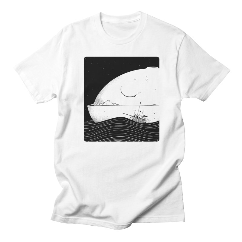 The Great White Men's T-Shirt by viborjuhasart's Artist Shop
