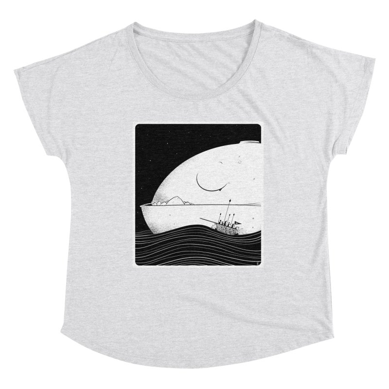 The Great White Women's Scoop Neck by viborjuhasart's Artist Shop