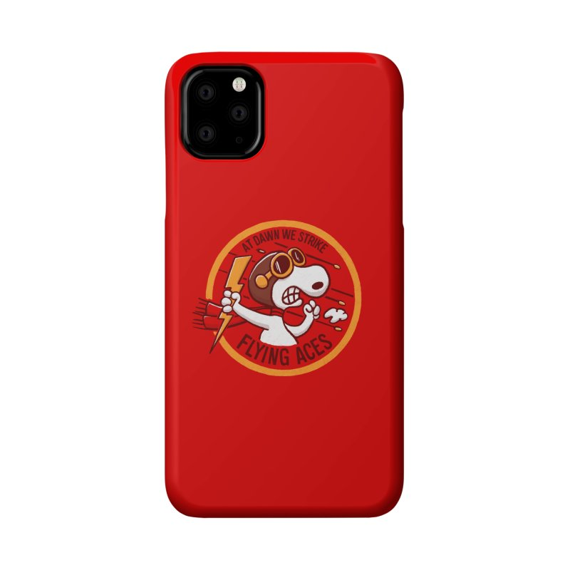 Flying Aces Accessories Phone Case by Victor Calahan