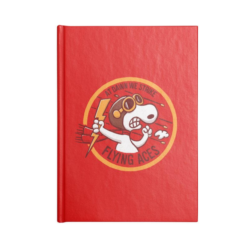 Flying Aces Accessories Notebook by Victor Calahan