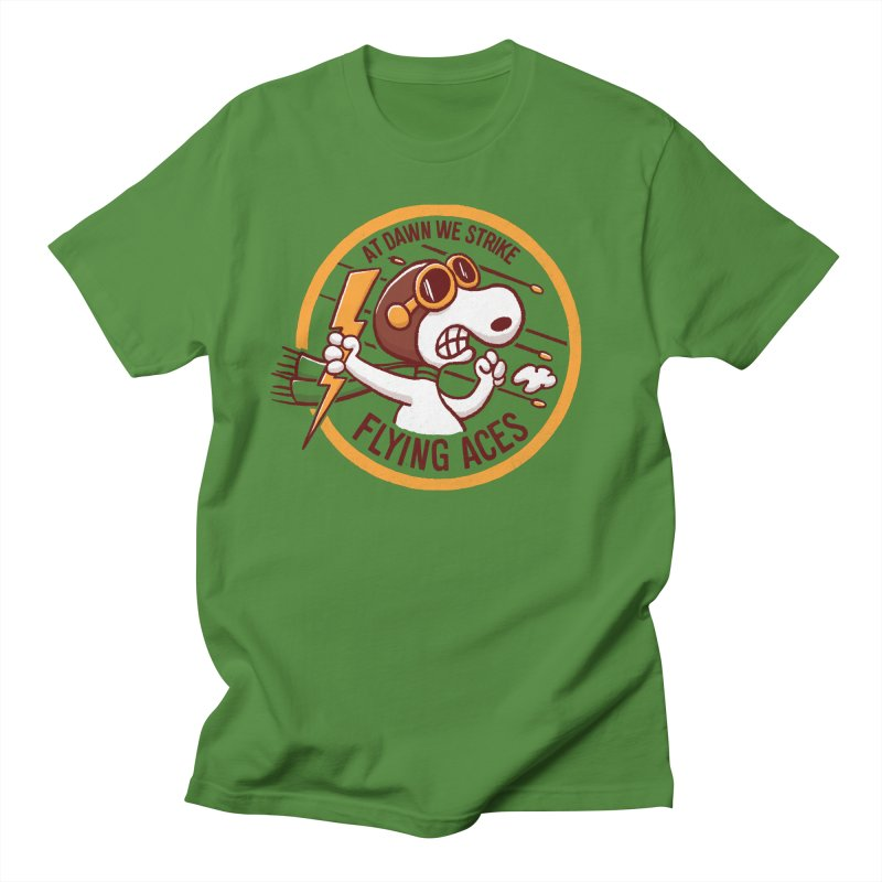 Flying Aces Men's T-Shirt by Victor Calahan