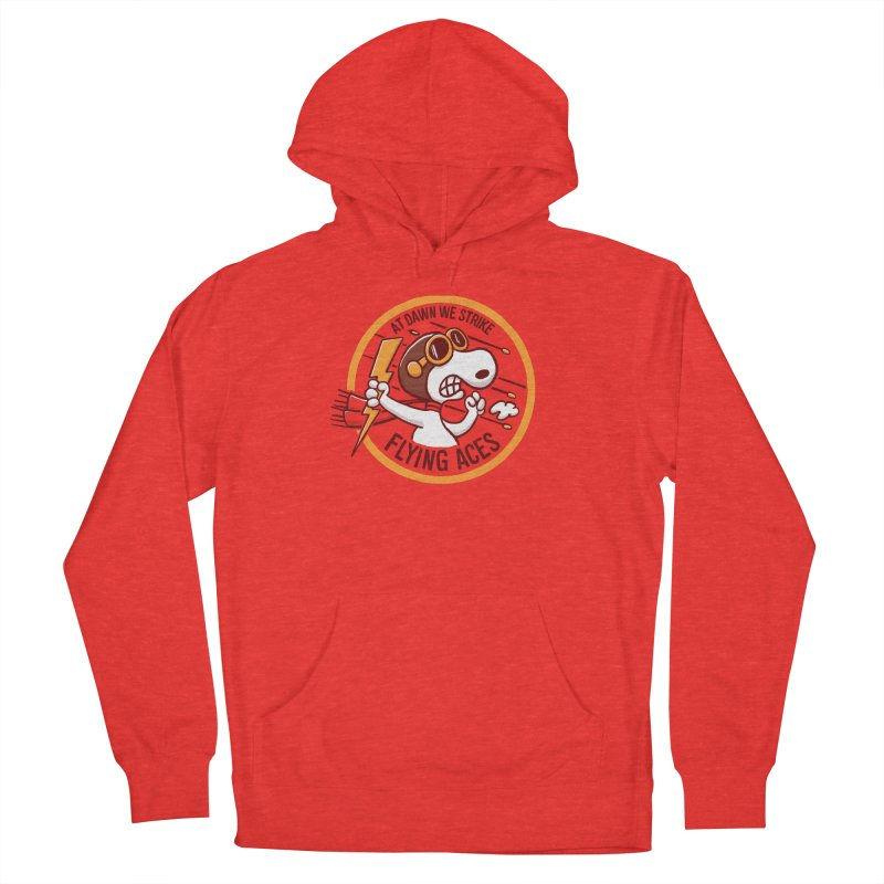 Flying Aces Women's Pullover Hoody by Victor Calahan