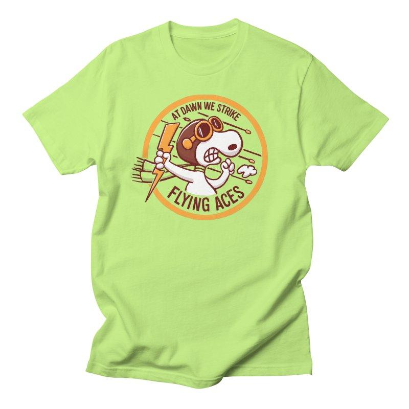 Flying Aces Men's Regular T-Shirt by Victor Calahan