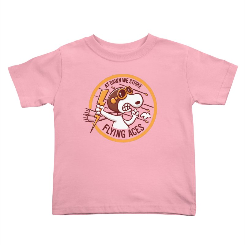 Flying Aces Kids Toddler T-Shirt by Victor Calahan
