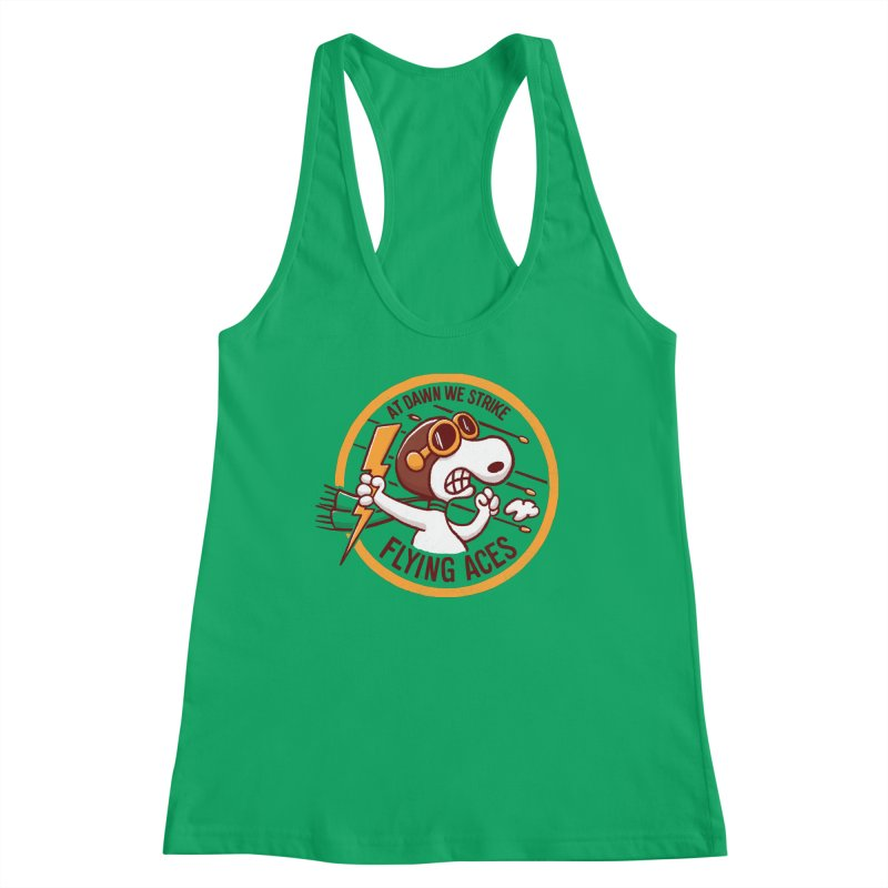 Flying Aces Women's Tank by Victor Calahan