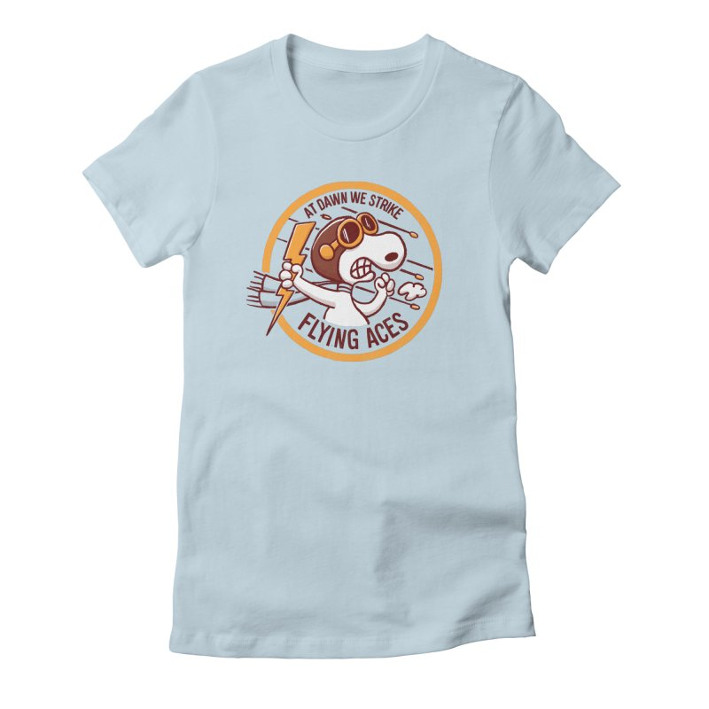 Flying Aces Women's T-Shirt by Victor Calahan