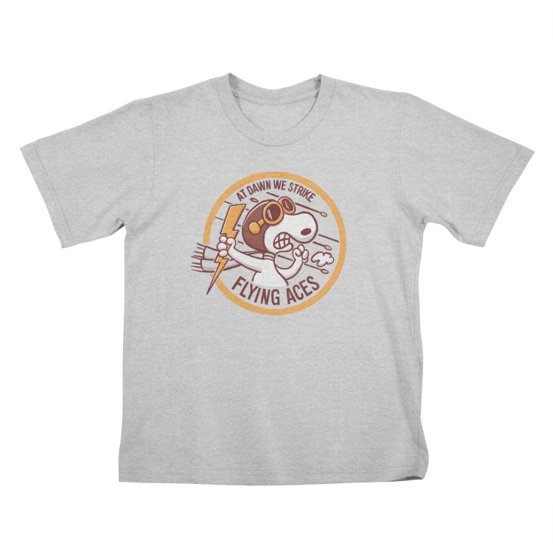 Flying Aces Kids T-Shirt by Victor Calahan