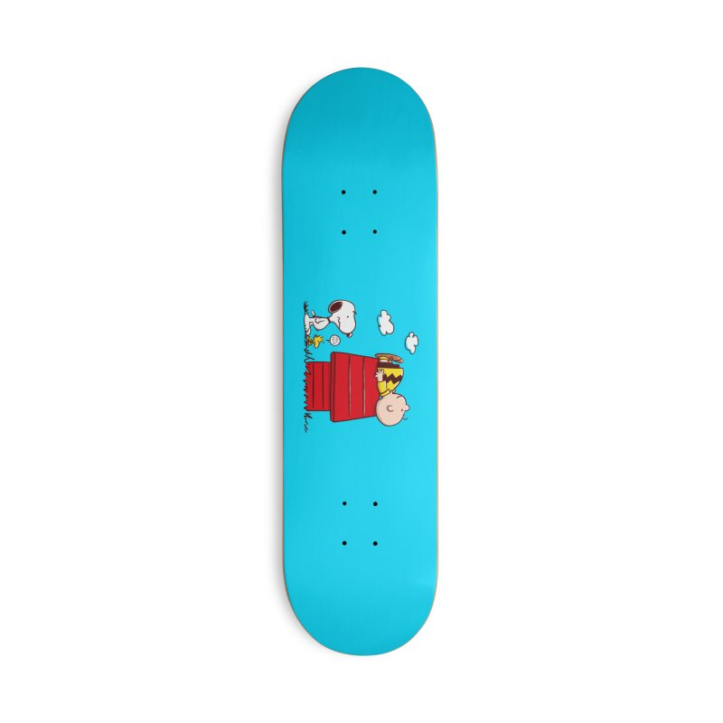 Squatter Accessories Skateboard by Victor Calahan