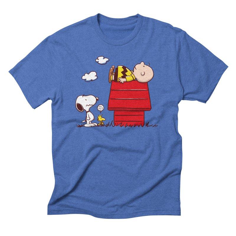 Squatter Men's T-Shirt by Victor Calahan