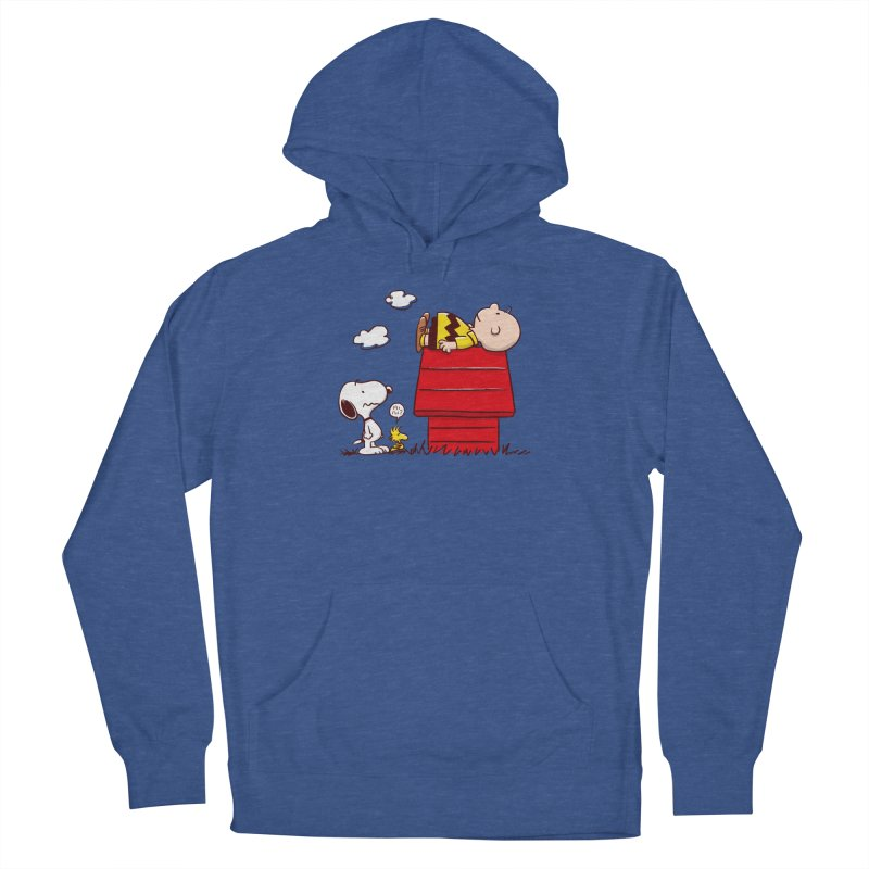 Squatter Men's Pullover Hoody by Victor Calahan