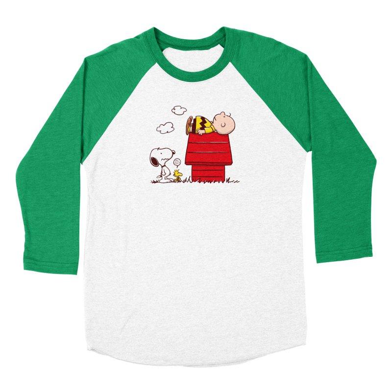 Squatter Women's Baseball Triblend Longsleeve T-Shirt by Victor Calahan