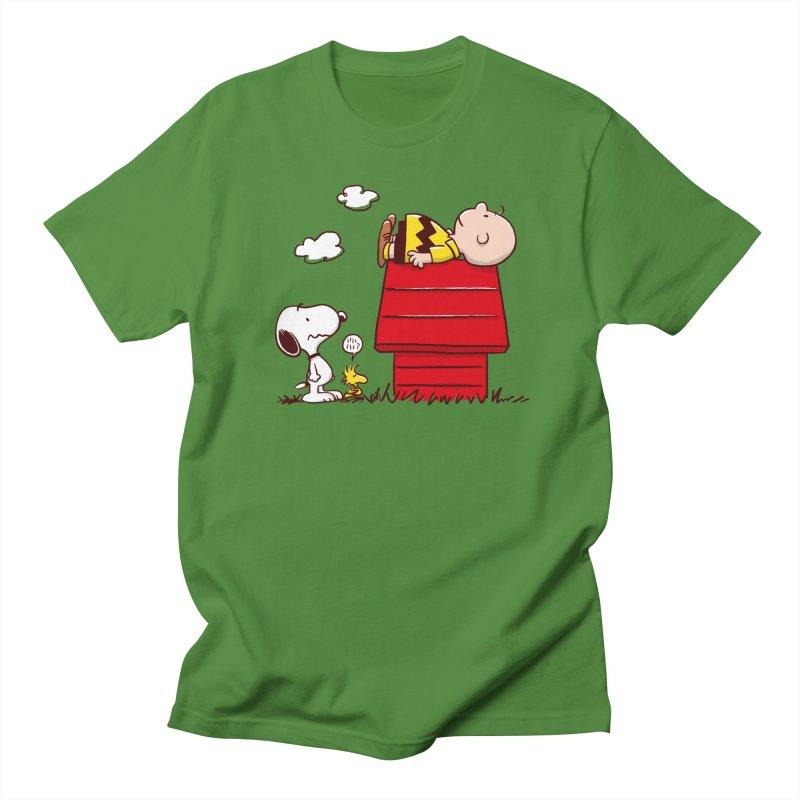 Squatter Men's Regular T-Shirt by Victor Calahan