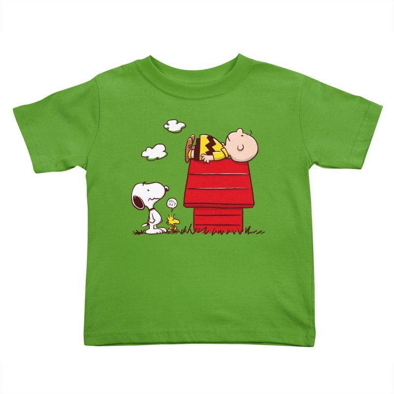 Squatter Kids Toddler T-Shirt by Victor Calahan