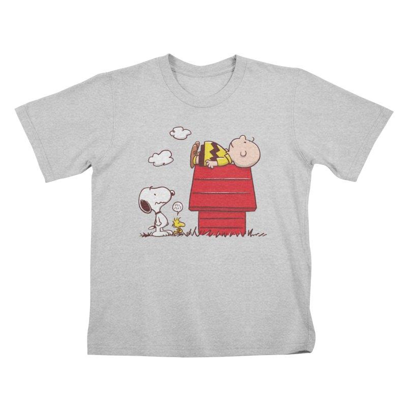 Squatter Kids T-Shirt by Victor Calahan