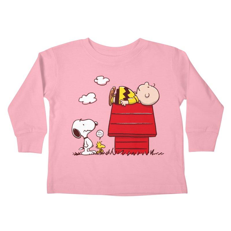 Squatter Kids Toddler Longsleeve T-Shirt by Victor Calahan