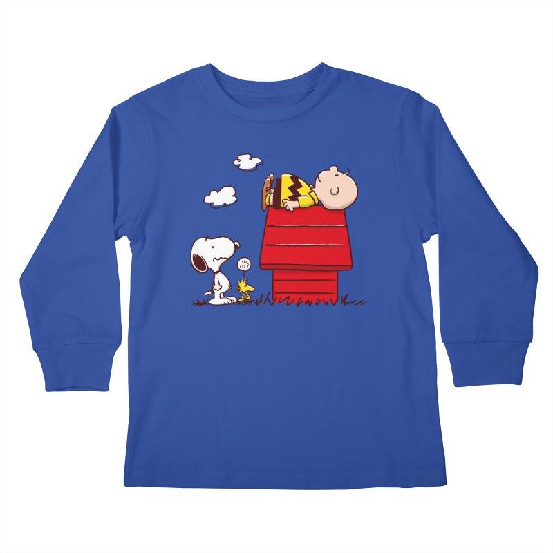 Squatter Kids Longsleeve T-Shirt by Victor Calahan