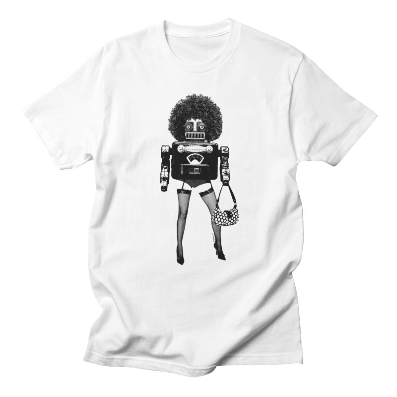 A Tragedy of Obsolescence in Men's T-Shirt White by Victor Calahan