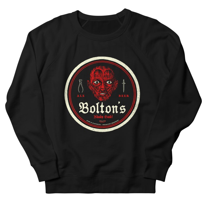 Bloody good! Men's French Terry Sweatshirt by Victor Calahan