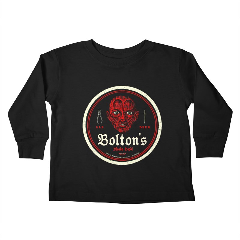 Bloody good! Kids Toddler Longsleeve T-Shirt by Victor Calahan