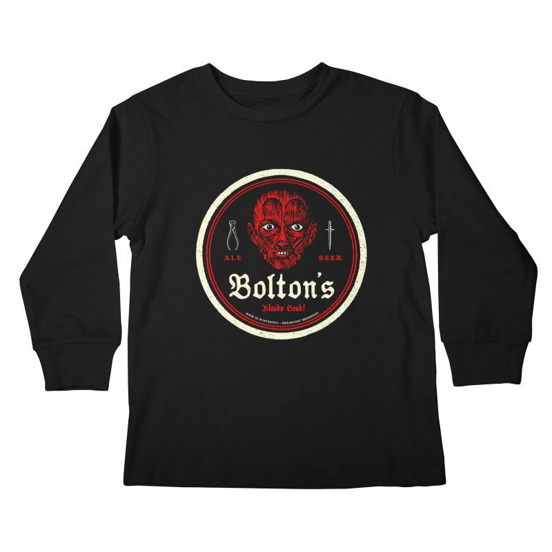 Bloody good! Kids Longsleeve T-Shirt by Victor Calahan