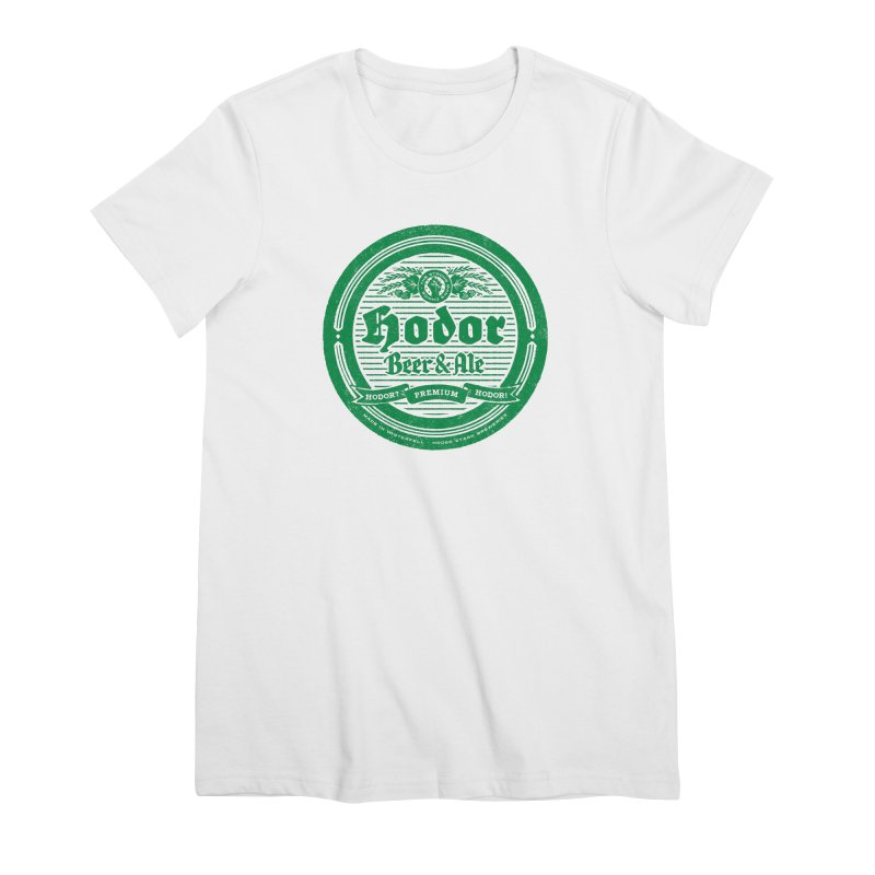 The Strong man's choice Women's Premium T-Shirt by Victor Calahan