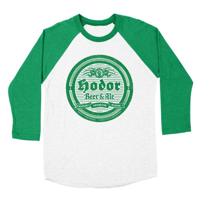 The Strong man's choice in Men's Baseball Triblend Longsleeve T-Shirt Tri-Kelly Sleeves by Victor Calahan