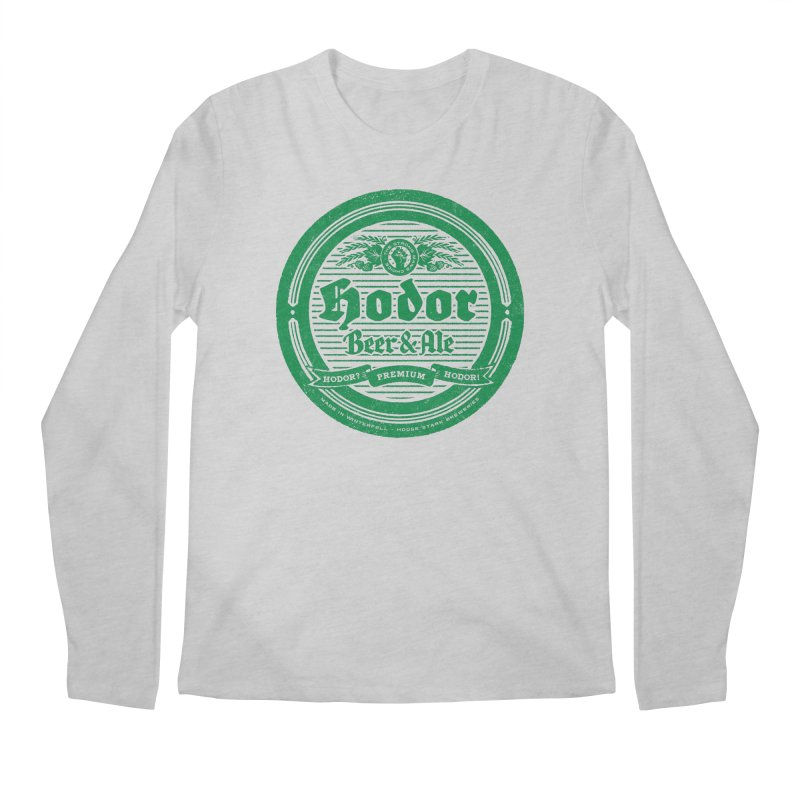 The Strong man's choice Men's Regular Longsleeve T-Shirt by Victor Calahan
