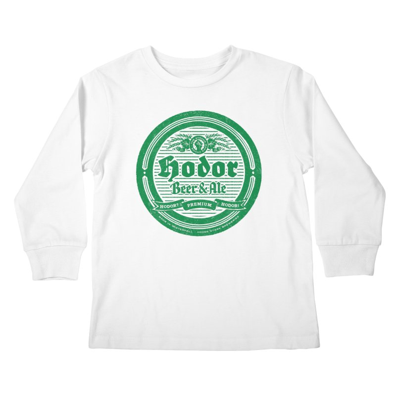 The Strong man's choice Kids Longsleeve T-Shirt by Victor Calahan