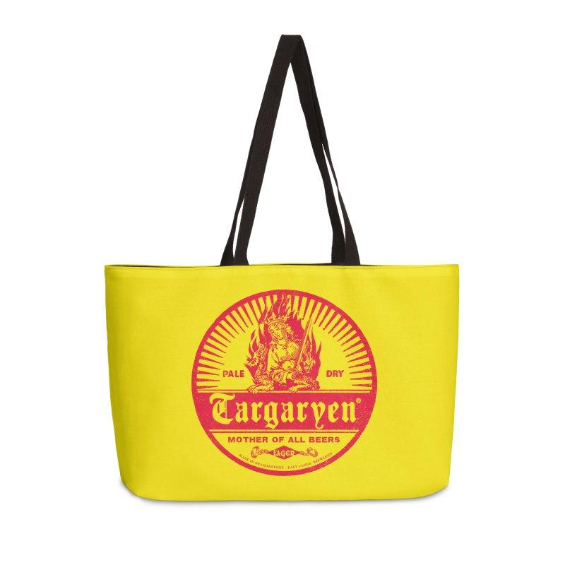 Mother of all beers Accessories Weekender Bag Bag by Victor Calahan