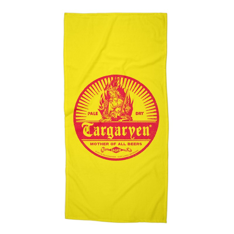 Mother of all beers Accessories Beach Towel by Victor Calahan