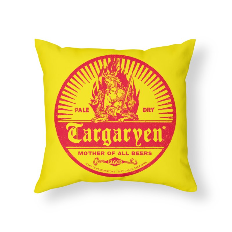 Mother of all beers Home Throw Pillow by Victor Calahan