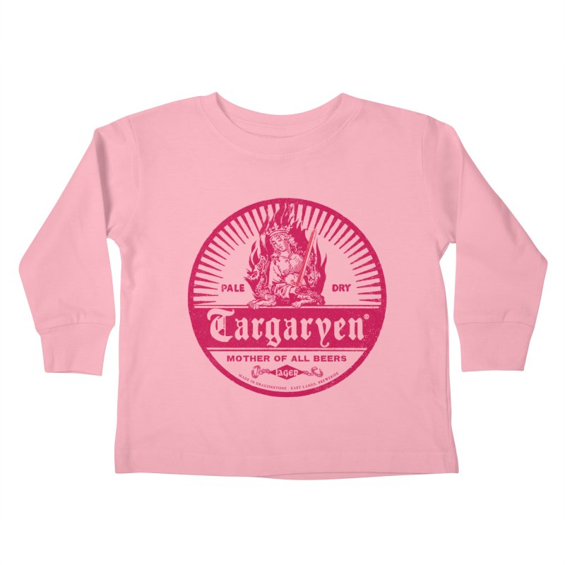 Mother of all beers Kids Toddler Longsleeve T-Shirt by Victor Calahan