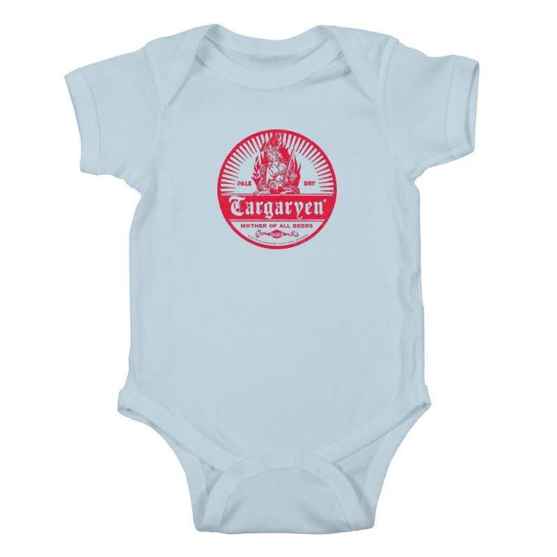 Mother of all beers Kids Baby Bodysuit by Victor Calahan