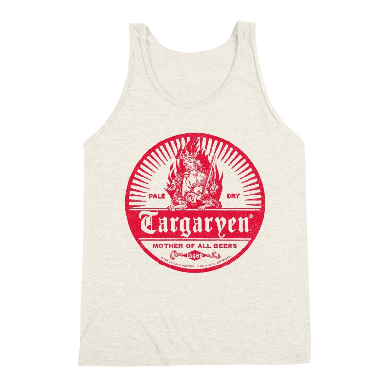 Mother of all beers Men's Triblend Tank by Victor Calahan