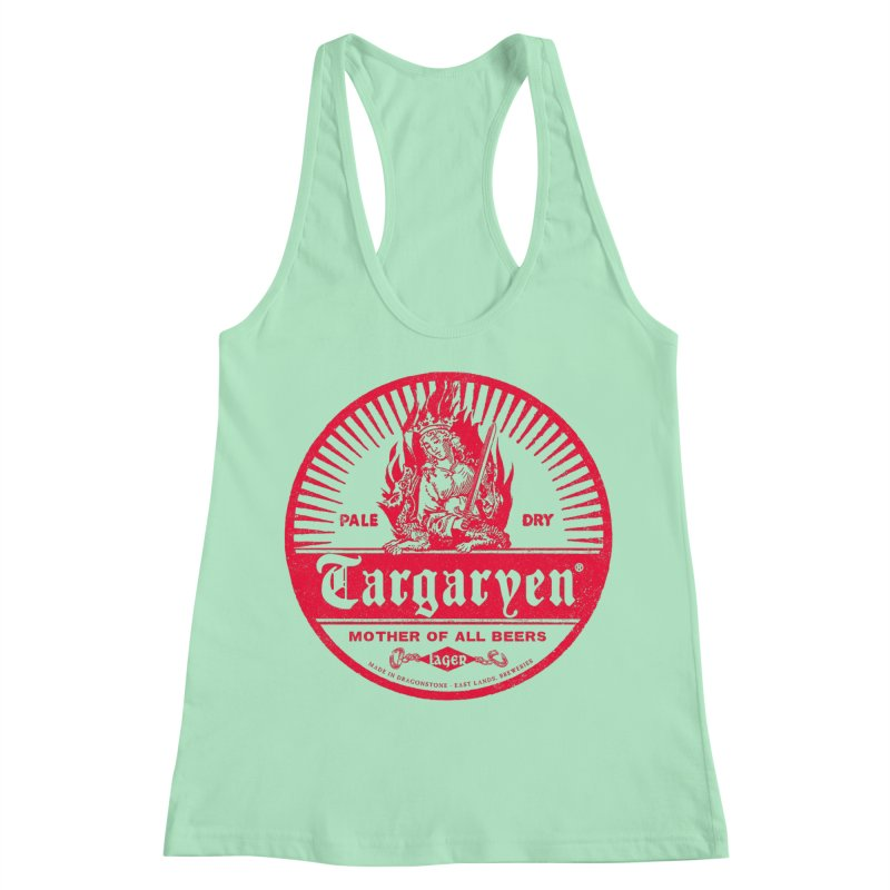 Mother of all beers Women's Racerback Tank by Victor Calahan