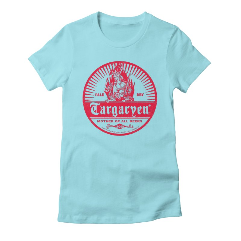 Mother of all beers Women's Fitted T-Shirt by Victor Calahan