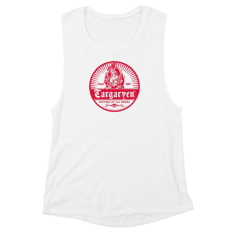 Mother of all beers Women's Muscle Tank by Victor Calahan