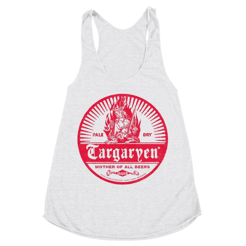 Mother of all beers Women's Racerback Triblend Tank by Victor Calahan