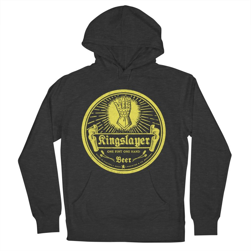 One Hand One Pint Men's Pullover Hoody by Victor Calahan