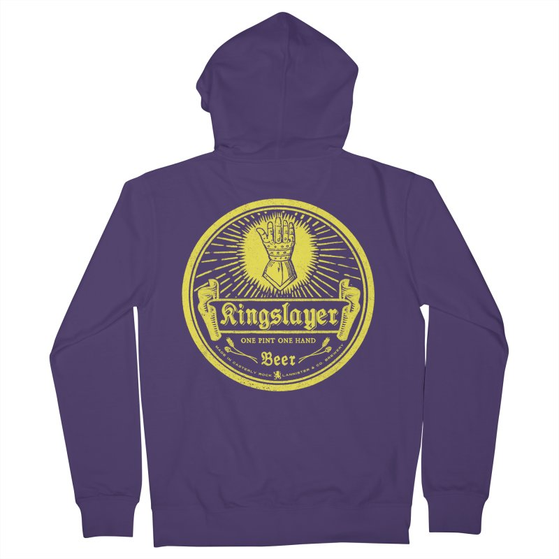 One Hand One Pint Women's Zip-Up Hoody by Victor Calahan