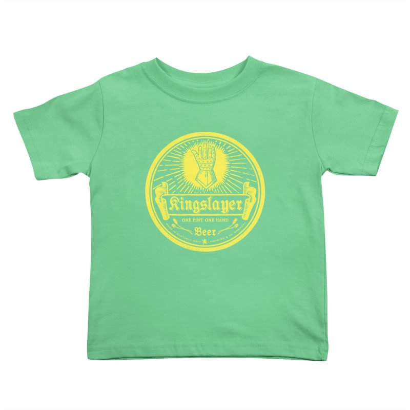 One Hand One Pint Kids Toddler T-Shirt by Victor Calahan