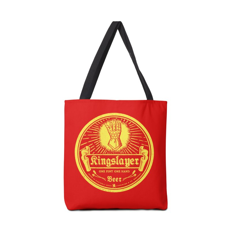 One Hand One Pint Accessories Tote Bag Bag by Victor Calahan