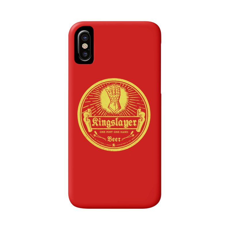 One Hand One Pint Accessories Phone Case by Victor Calahan