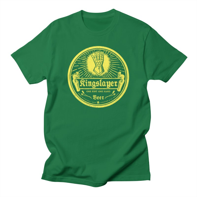 One Hand One Pint Men's T-Shirt by Victor Calahan