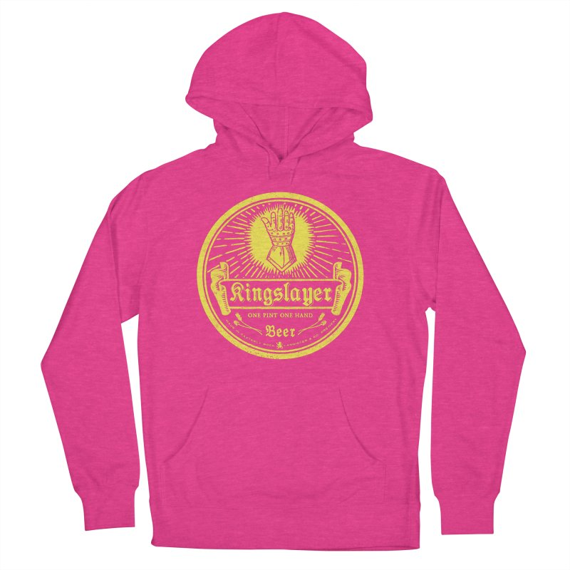One Hand One Pint Women's French Terry Pullover Hoody by Victor Calahan