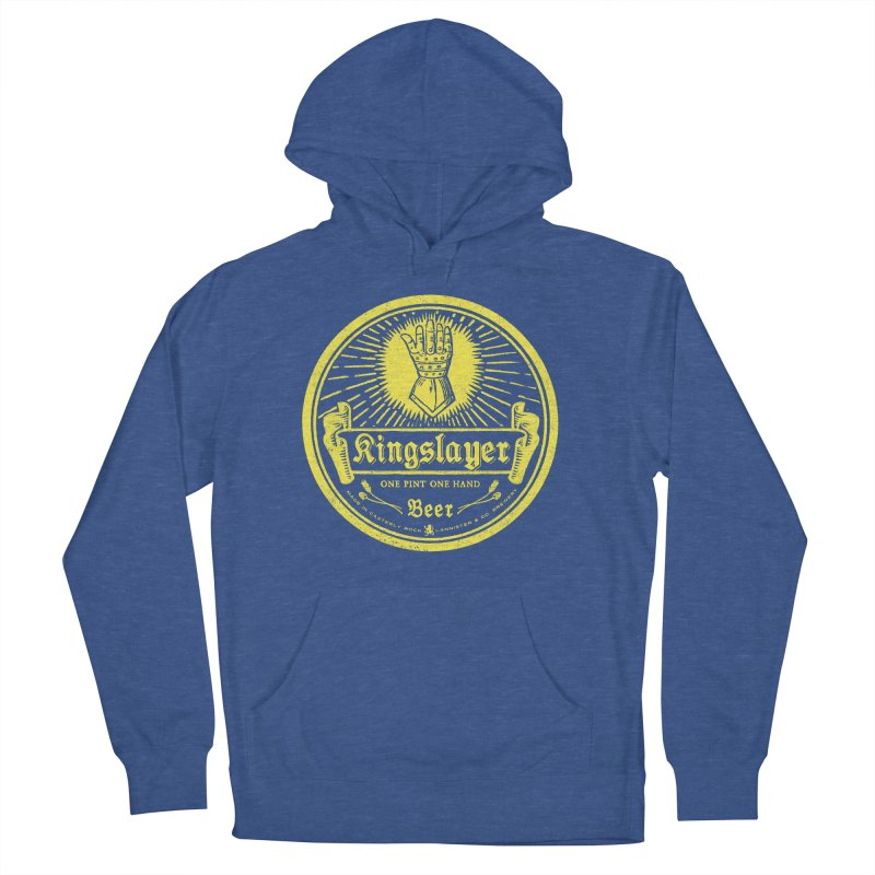 One Hand One Pint Men's French Terry Pullover Hoody by Victor Calahan